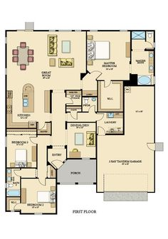 One Level House Plans, Sims House Plans, Family House Plans, Best House Plans, Bedroom House Plans, Dream House Plans, Small House Plans, House Floor Plans, My Dream Home