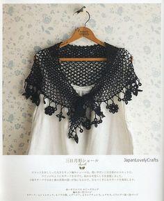 Irish Crochet Lace Patterns Mayumi Kawai by JapanLovelyCrafts