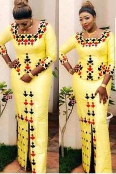 Latest African Fashion Dresses, African Print Fashion, Africa Fashion, Tribal Fashion, Women's Fashion Dresses, Casual Dresses, African Wedding Attire, African Attire, African Wear
