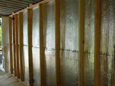 Some photos of the project, I could and will sometime say more about the wall construction system I came to terms with. The dew point is a ...