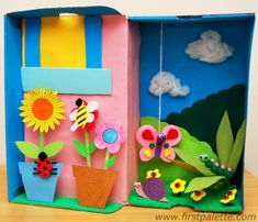'Mom, I'm bored!' your pre-schooler complains, tired of her toys and books. In this case, put her in front of 'the box.' No, not the television, but this fun (and cheap!) craft project: a shoebox diorama. You probably already have all the materials for the diorama right in your home. Aside from the shoebox, you …