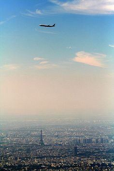 Paris, France. I've landed here and hung out in the airport but never explored. Maybe some day. Maybe.....