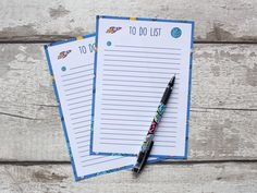 Outer Space To Do List Printable Planner Pages Instant