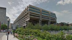 Government Center Garage - 1967 by Kallmann, McKinnell and Knowles - #architecture #googlestreetview #googlemaps #googlestreet #usa #boston #brutalism #modernism