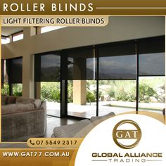 Roller Blinds: Light Filtering Roller Blinds Smooth operation – easy installation – all fittings included Quality roller blinds  • Colours: white, cream, black • Blind Type: roller, holland • Material: 100% polyester • Fabric: screen shade • Width: 60cm – 180cm • Length: 210cm • Control: Chain • Style: Light screening  #Bamboo #Laminate #RollerBlinds #Underlay #BlockoutRollerBlinds #SkirtingBoards #StairNosing #BuildingMaterial #GlobalAllianceTrading…