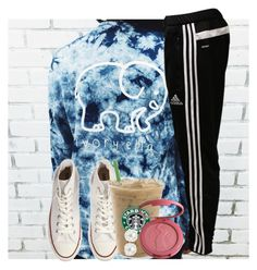 """""""shoutout to my fav people!"""" by ellaswiftie13 ❤ liked on Polyvore featuring adidas, Converse, tarte and Pearlyta"""
