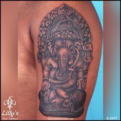 Best and most rated tattoo studios in Mumbai. We are team of highly creative tattoo artist. Ganesha Tattoo, Tattoo Designs Wrist, Colour Tattoo, Mom Tattoos, Creative Tattoos, In Mumbai, Tattoos Gallery, Tattoo Studio, Tattoo Artists