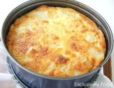 Exclusively Food: Ham and Potato Bake Recipe