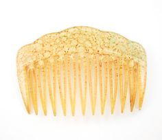 Vintage Hair Comb Celluloid Hair Comb Marbled by TheGildedSwan
