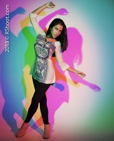 Colorful Shoot with Marcela S.