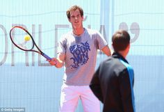 Paying respect: Andy Murray, who has known Baltacha since childhood, is expected to attend the tribute