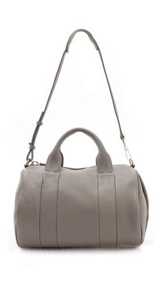 is this too fancy to be my gym bag?: Alexander Wang Rocco Duffel Bag