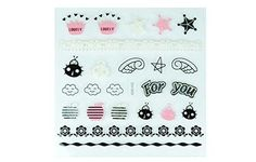 Linda Fashion Nail Art, Assorted, 12 Count -- More info could be found at the image url.