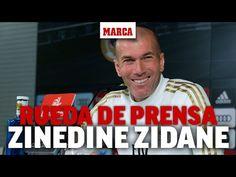 Rueda de prensa de Zidane previa al Osasuna - Real Madrid I MARCA Zinedine Zidane, Real Madrid Club, Wheels