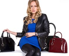 Leather Jacket, Classic, Fall Winter, Jackets, Collection, Store, Colors, Fashion, Studded Leather Jacket