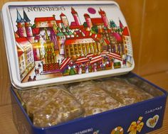Gingerbread from the Nuremberg Christmas Market in Bavaria, Germany