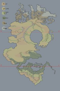 Critique my biome placement, please : worldbuilding Fantasy Map Making, Fantasy World Map, Fantasy City, Fantasy Names, World Map Design, World Map Art, Dessin My Little Pony, Imaginary Maps, Rpg Map