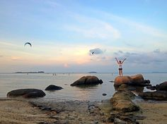 July 2014: Bintan Cabana Beach Resort in Bintan, Indonesia