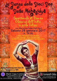 ASSOCIAZIONE CULTURALE ORCHESTÉS │ DANZA CLASSICA INDIANA: La Danza delle Dieci Dee Daśa Mahāvidyā
