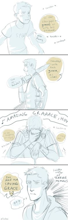 Jason's face! *Someone kill me now* - The 'Grace' pun by Minuiko