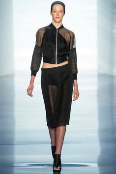 Someone give me this jacket!  Vera Wang Spring 2014 Ready-to-Wear Collection Slideshow on Style.com