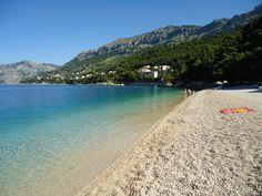 Punta Rata in Brela, meiner Meinung nach einer der Schönsten Strände in Kroatien