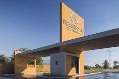 Main Gate Design, Entrance Design, Entrance Gates, Main Entrance, Entrance Signage, Gate City, Pavilion Design, Arch Architecture, Hospital Design