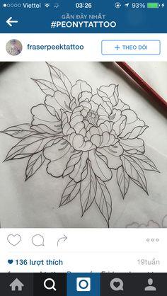 Peony tattoo                                                                                                                                                      More