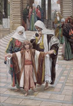 Jesus Found In The Temple -  Tissot, James Jacques Joseph (1836-1902)