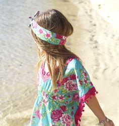 Sweet Capri Kaftan Kids Avaliable for purchase at www.daintydarlings.com.au