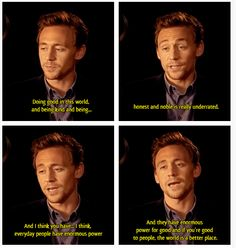 Why Tom is sexy <3<3<3