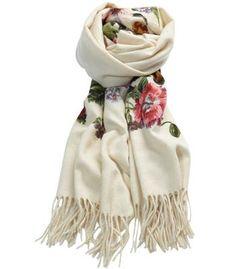 Le Lis Blanc scarf-cashmere