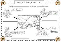 """Ayer hicimos la rutina  """"A step inside o Un paso al interior"""" . Esta rutina consiste en que los niños aprendan a explorar diferentes perspe... Ecards, Prehistory, Note Cards, E Cards"""