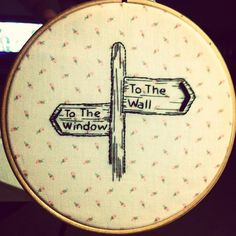 I so want to make this in cross stitch instead