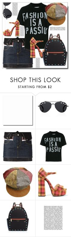 """Fashion Is a Passion !"" by dragananovcic ❤ liked on Polyvore featuring Givenchy, Dsquared2, Sacai, Roberto Cavalli, Prada, Henri Bendel and mark."