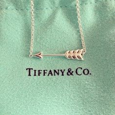 Imagen de arrow, necklace, and tiffany