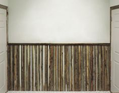 Barnwood Wainscoting Reclaimed Wood Wall Paneling. Price per Linear Foot.