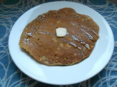 Toasted Oat and Pecan Pancakes