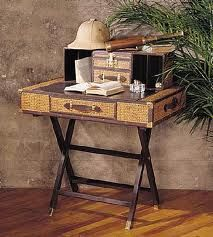 Bauer Stiles Brothers Campaign Desk Lesser Expensive Version Of Campaign  Desk Than Bauer. Rattan Wicker Furniture Co