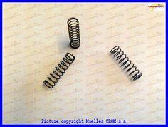 Compression springs coiled cold wire - Muelles de compresión arrollados en frío