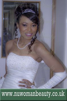 African Caribbean Brides London Bridal Afro Hair