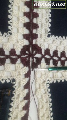 Eski Kot Pantolondan Yelek Nasıl Yapılır. – El İşlerimiz Baby Knitting Patterns, Crochet Patterns, 3d Origami, Crochet Motif, Diy And Crafts, Blanket, Sewing, Handmade, Accessories