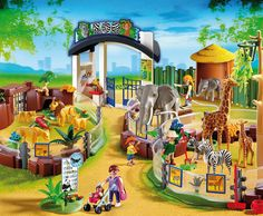 """Playmobil-Spielzeug gewinnen Wir verlosen PLAYMOBIL Spielsets """"Großer Tierpark"""" für tierischen Spielspaß! Viel Glück!"""