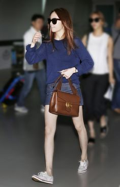 F(x) Krystal Airport Fashion | Useful Styling Tips for Everyday Wear from Krystal