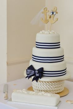 Anchors Away wedding cake topper-Anchors-boat wedding cake topper-sailing-sailing cake topper-nautical theme-beach wedding on Etsy, $28.00