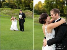 Bride and Groom - Pittsfield Country Club Wedding - Tricia McCormack Photography