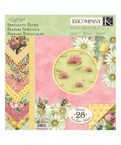 Take a look at this Spring Blossom Susan Winget Specialty Paper Pad today!