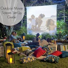 Tonisha Ramona: OUTDOOR MOVIE SCREEN GUIDE