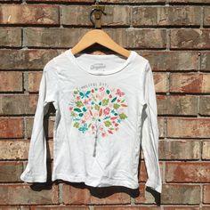 68af52096d488 OshKosh Fall Tree Shirt Kids - Size 4T Tops Tees - Long Sleeve