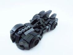 Lego Arkham Asylum Batmobile